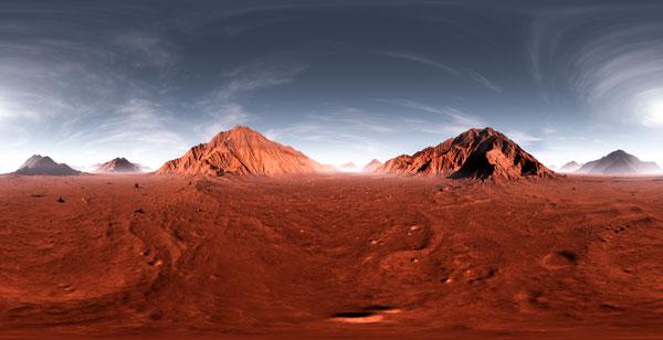Conoce Marte con los cinco sentidos